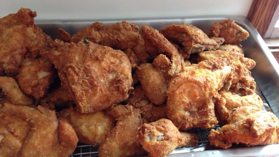 Consider serving our famous fried chicken and homemade salads at your next event!